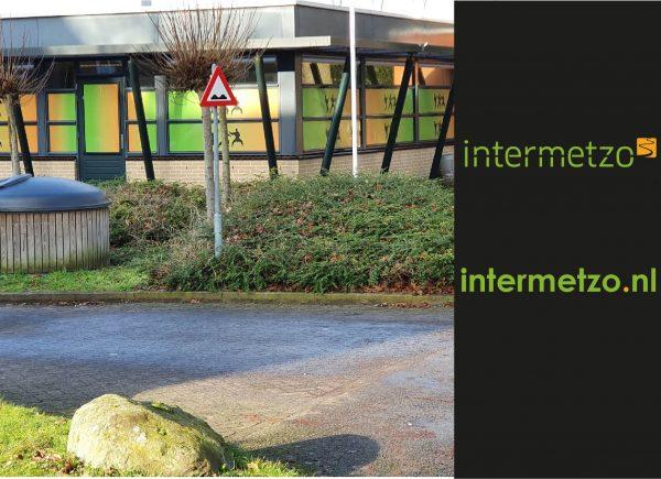 Projecten Intermetzo Raamfolie ontwerpen & plakken op locatie buiten