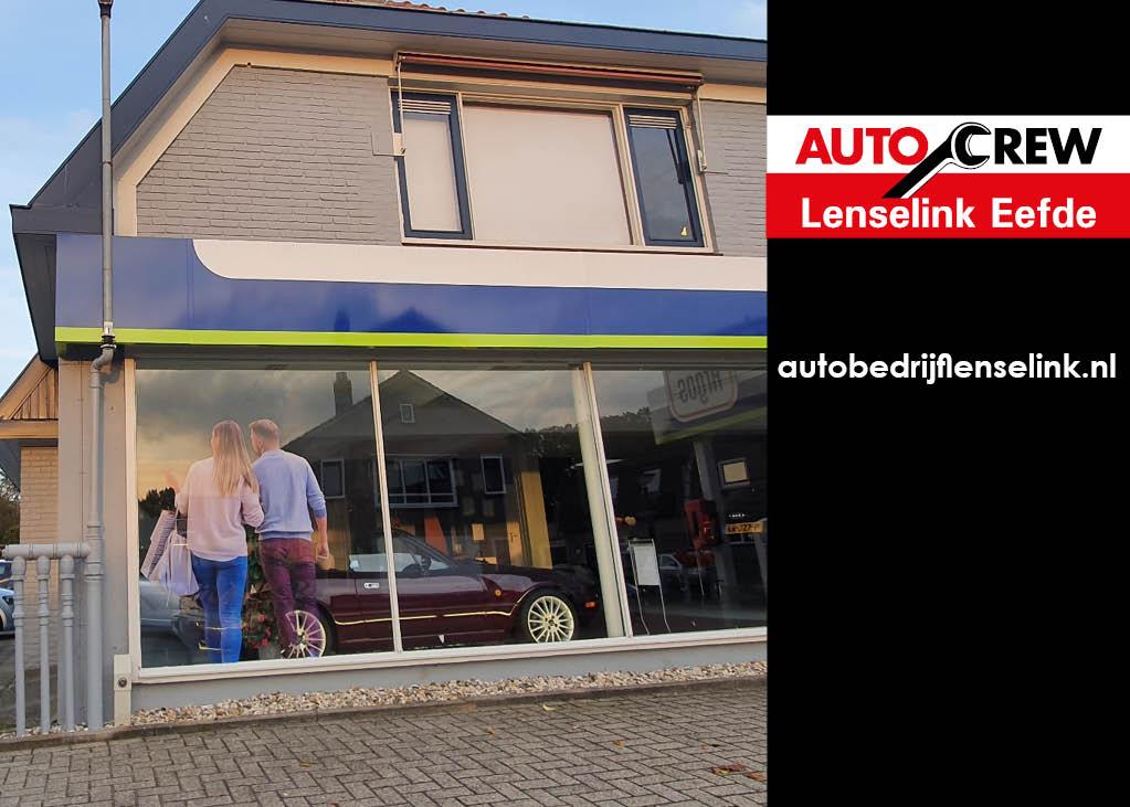 Projecten Lenselink auto crew raamfolie klanten