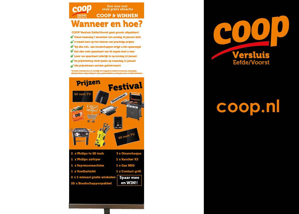 Projecten coop Versluis Eefde-Voorst banners